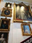 The large painting is of Catherine the Great