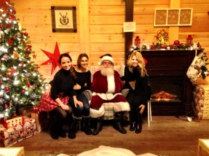 Santa is awake!
